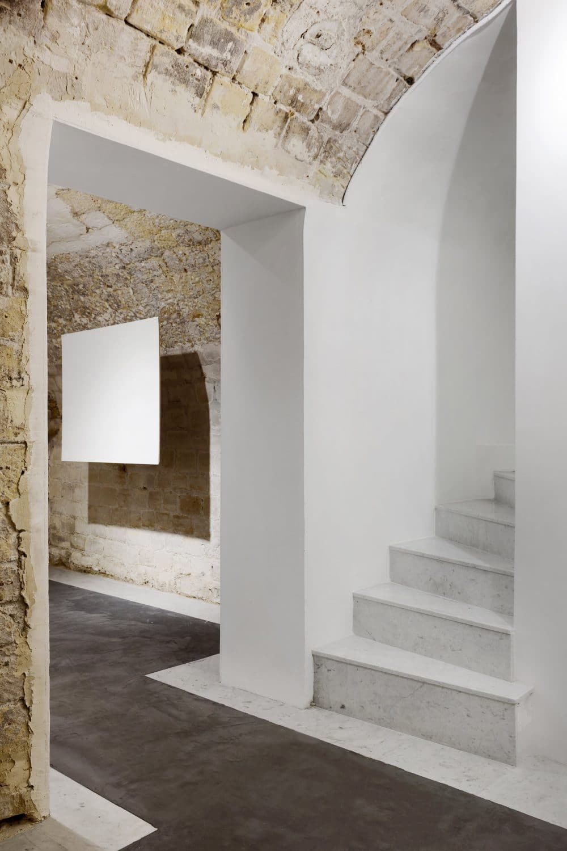 Galerie MR agency, 75003, cave voutée