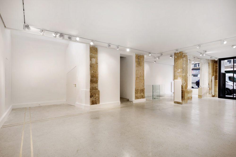 Galerie à louer, Rue de turenne, Paris showroom