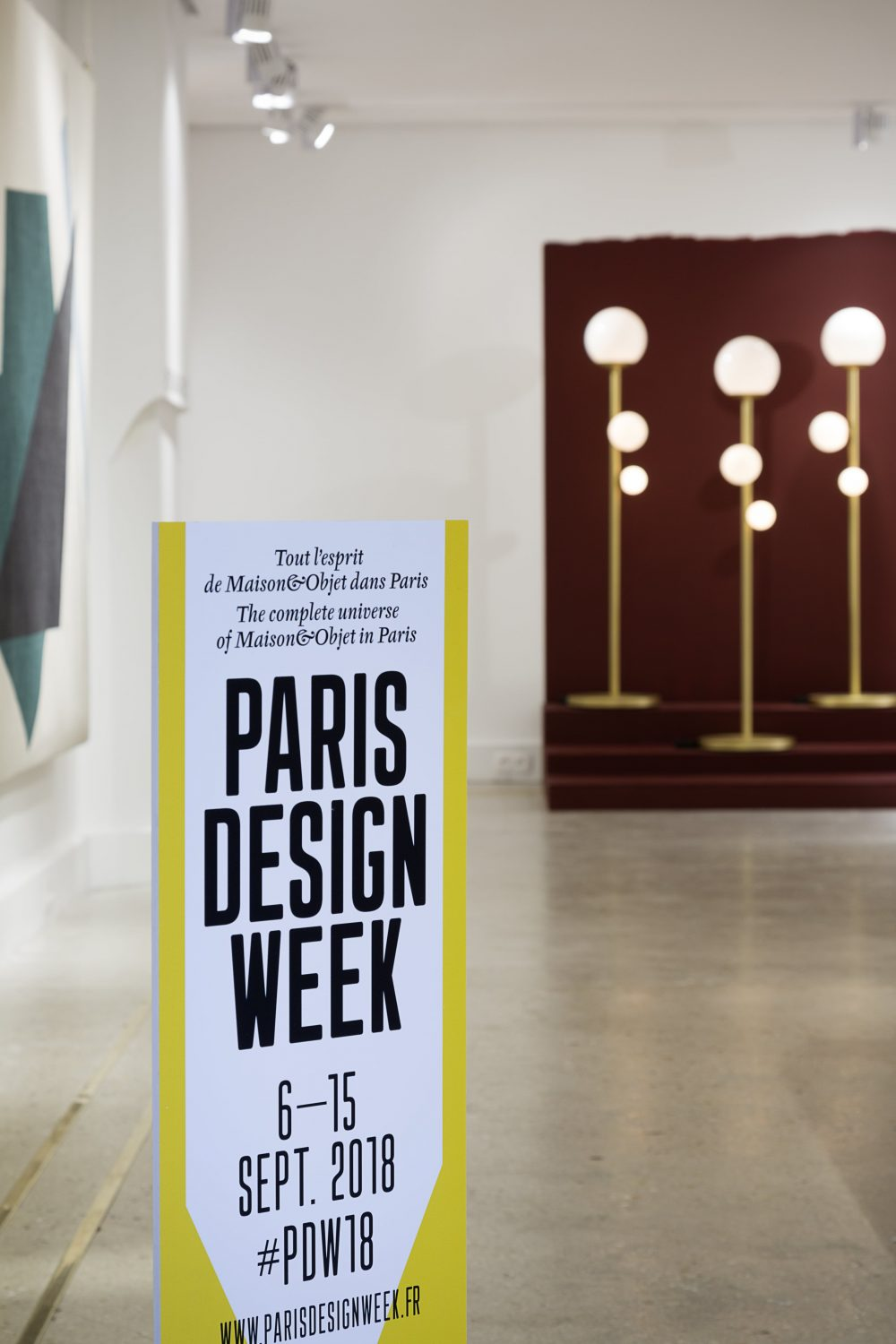 Paris Design Week 2018, launching of www.melissareganeditions.com