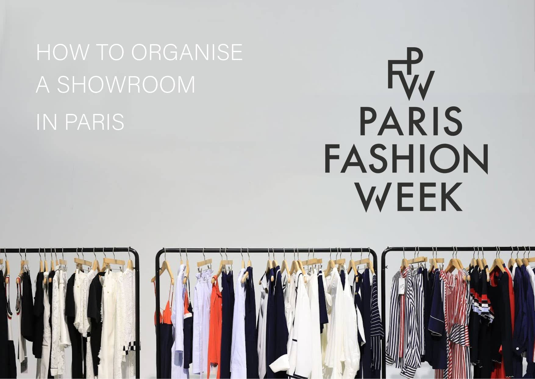 How to organise a showroom in Paris