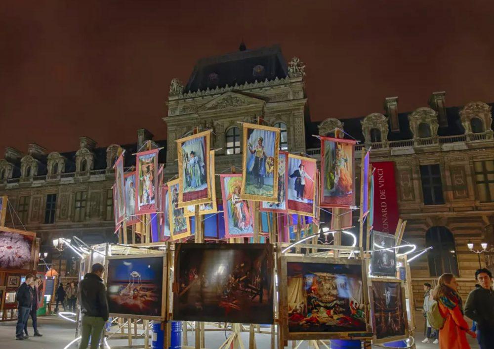 La scène artistique parisienne pendant le Covid