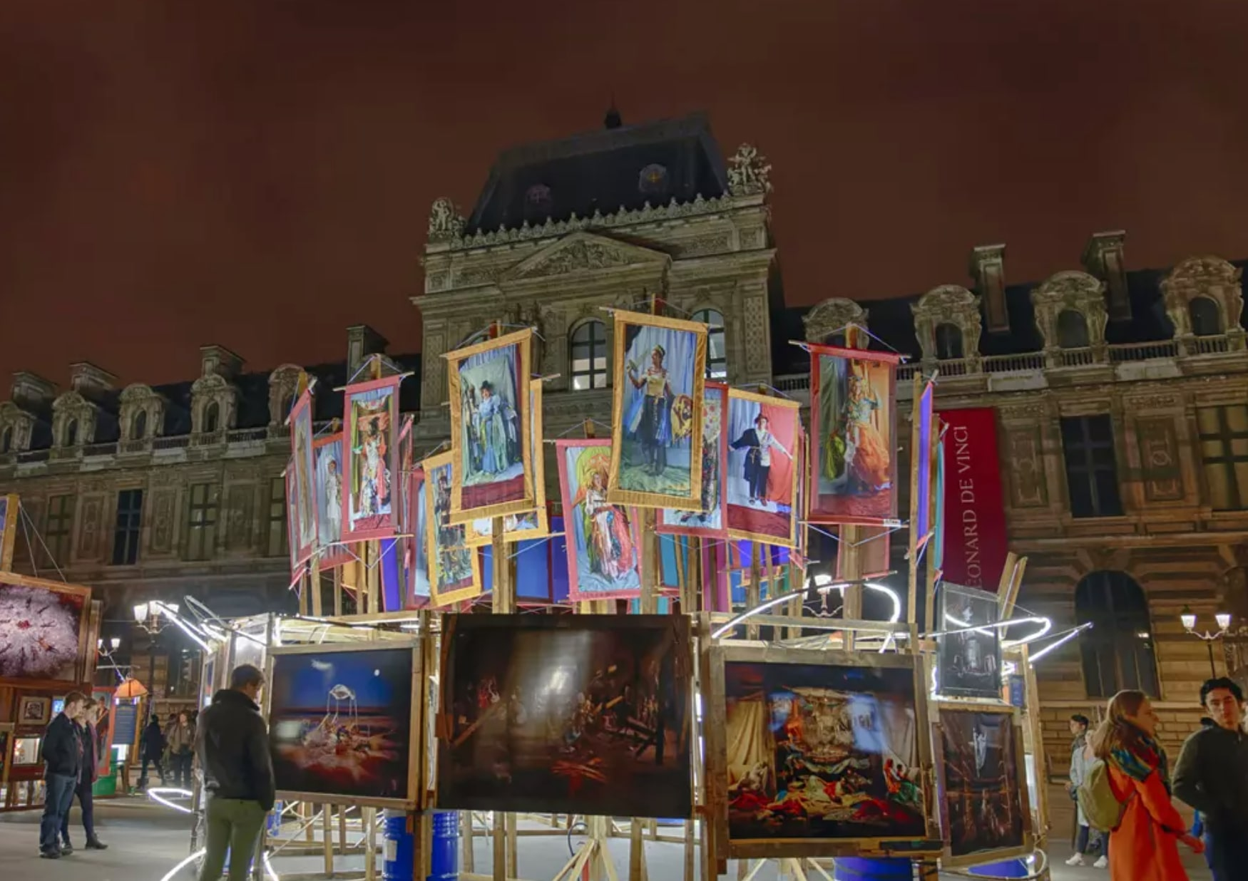 The Parisian art scene during Covid
